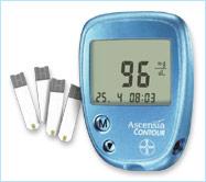 Totallydiabetes Com Ascensia Contour Blood Glucose Meter